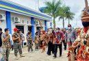 Kunjungan Kerja di Malinau, Masyarakat Antusias Sambut Kedatangan Gubernur & Wakil Gubernur Kaltara