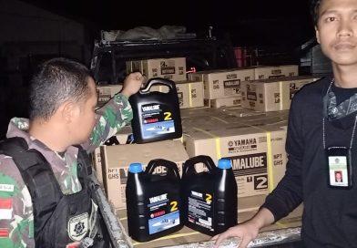 Tangkapan Oli Mesin Ilegal, KPPBC Nunukan Berharap Barang Tersebut Dihibahkan Untuk Nelayan