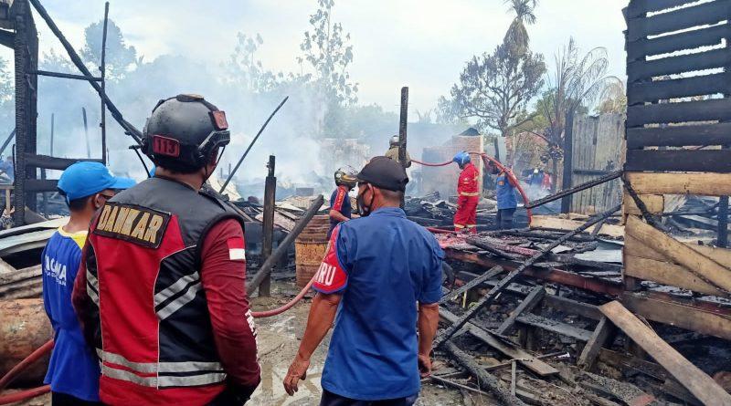 Pemkab Malinau Akan Segera Salurkan Bantuan bagi Korban Kebakaran Desa Malinau Hilir